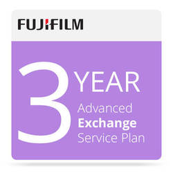 Fujifilm 3-Year Advanced Exchange Service Program for Frontier-S DX100 Printer