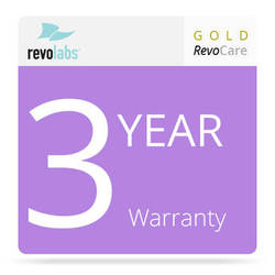 Revolabs 3-Year Gold RevoCARE Warranty for the Executive HD MaxSecure 8-Channel Wireless Microphone System