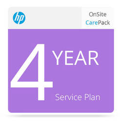 HP 4-Year Next Business Day Onsite & Defective Media Retention Service