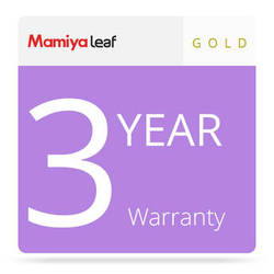 Mamiya Gold Package Warranty