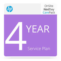 HP 4-Year Next Business Day On-Site Service w/ Defective Media Retention