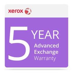 Xerox 5-Year Advanced Exchange Warranty for DocuMate 3125 Document Scanner