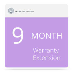 3D Systems 9-Month Warranty Extension for the CubePro 3D Printer