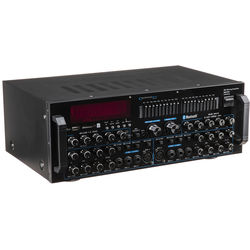 Technical Pro MM3000 Pro Mic Mixing Amp With USB, SD Card, and Bluetooth Inputs