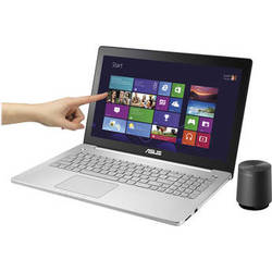 """ASUS 15.6"""" N550JX Multi-Touch Notebook (Silver)"""