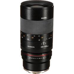 Rokinon 100mm f/2.8 Macro Lens for Sony E