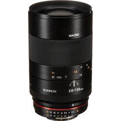 Rokinon 100mm f/2.8 Macro Lens for Nikon F