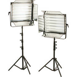 Smith-Victor FLO-330 660W Dimmable Fluorescent 2-Light Kit