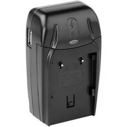 Watson Compact AC/DC Charger with BN-V700 Series Battery Plate