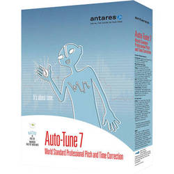 Antares Audio Technologies Auto-Tune 7 TDM/RTAS - Pitch and Time Correction Plug-In (Download)