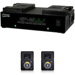 Switronix Two HyperCore GOLD Batteries and Dual Charger