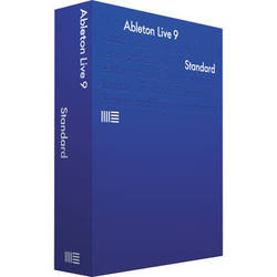 Ableton Live 9 Standard - Music Production Software (Educational, Download)