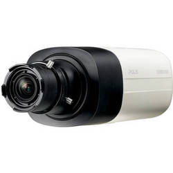 Hanwha Techwin SNB-8000 5MP Day/Night IP Box Camera (No Lens, Black & Ivory)
