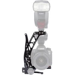 ProMediaGear BBX Boomerang Flash Bracket with Universal QR Plate (Black)