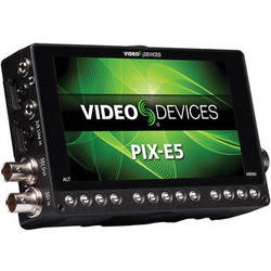 "Video Devices PIX-E5 5"" 4K Recording Video Monitor"