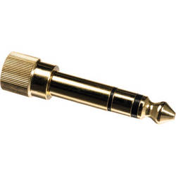 "Pearstone 1/4"" Stereo Phone Screw-On Adapter"