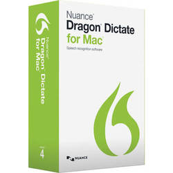 Nuance Dragon Dictate for Mac v4
