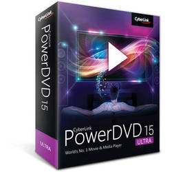 CyberLink PowerDVD 15 (Ultra Edition, Boxed)
