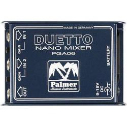 Palmer Duetto Nano Mixer for Guitars and Line Signals