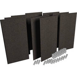 Auralex ProPanel ProKit-1 All-In-One Acoustical Room Treatment System (Obsidian)