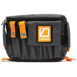 CineBags CB07 AC Pouch XL (Gray with Orange Webbing)
