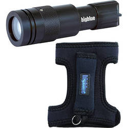 Bigblue CF450 LED Dive Light (with Glove)
