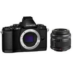 Olympus OM-D E-M5 Elite Mirrorless Micro Four Thirds Digital Camera with 14-42mm Lens (Black)
