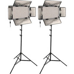 Genaray SpectroLED Studio 500 Bi-Color LED Two Light Kit