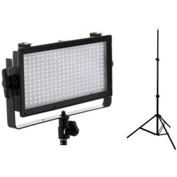 Genaray SpectroLED Essential 240 Bi-Color LED Light with 6' Stand Kit