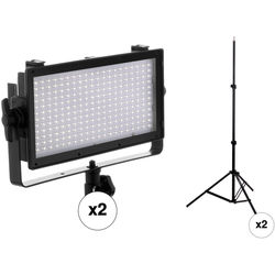 Genaray SpectroLED Essential 240 Bi-Color LED 2-Light Kit with Stands