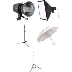 Impact Three Monolight Portrait Backlight Kit without Case (120VAC)