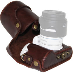 Mega Gear MG258 Ever Ready Protective Camera Case for Samsung NX300 (Dark Brown)