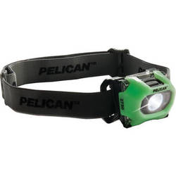 Pelican 2750PL LED Headlight with Photoluminescent Ring (Yellow)