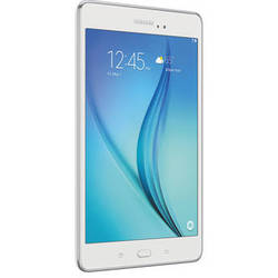 """Samsung 16GB Galaxy Tab A 8.0"""" Wi-Fi Tablet (White)"""
