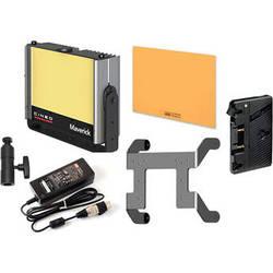 Cineo Lighting Maverick LED Light Bi-Color Portable Gold Mount Kit