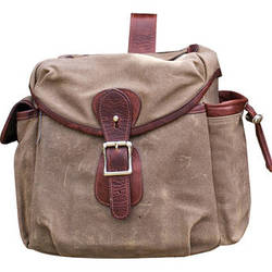 HoldFast Gear Explorer Large Lens Pouch (Olive with Brown Trim)