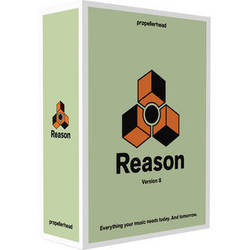 Propellerhead Software Reason 8 - Music Production Software (Student/Teacher Educational)