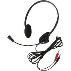 Califone 3065AV Lightweight Personal Multimedia Stereo Headset (Dual 3.5mm Plug)