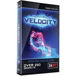 Video Copilot MotionPulse Velocity Pack - Sound Effects for Speed or Atmospheres (Download)