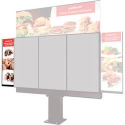 Peerless-AV Left-Hand Sidekick for Outdoor Digital Menu Board Kiosk