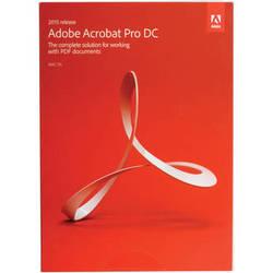 Adobe Acrobat Pro DC (2015, Mac, Boxed)