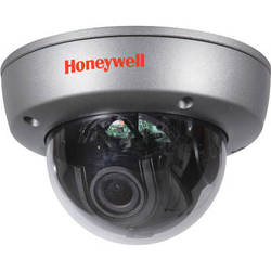 Honeywell Performance Series HD251H 960H Resolution Day/Night Rugged Indoor/Outdoor Mini Dome Camera (NTSC, Light Gray)