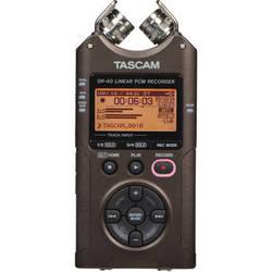 Tascam DR-40 4-Track Handheld Digital Audio Recorder (Bronze)