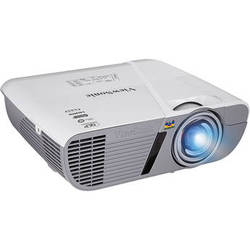 ViewSonic PJD6552LWS 3200L LightStream WXGA Networkable Short-Throw Projector (White)