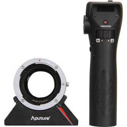 Aputure DEC Wireless Focus & Aperture Controller Lens Adapter for EF and EF-S Mount Lenses to E-Mount Cameras