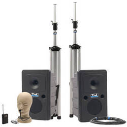 Anchor Audio Go Getter Deluxe PA Package with Wireless Collar Microphone and Bluetooth
