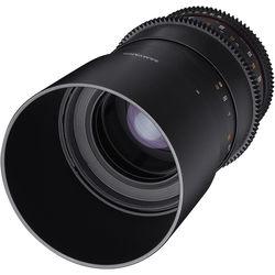 Samyang 100mm T3.1 VDSLRII Cine Lens for Micro Four Thirds Mount with Macro