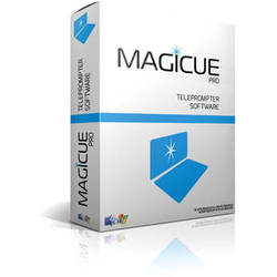 MagiCue Pro Software for Studio & Presidential Prompters