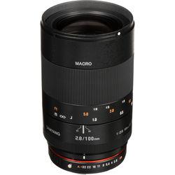 Samyang 100mm f/2.8 ED UMC Macro Lens for Pentax K