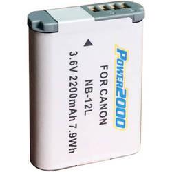 Power2000 ACD-430 NB-12L Lithium-Ion Battery Pack (3.6V, 2200mAh)